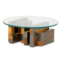 Cityscape coffee table, New Hope, PA