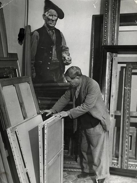 Brassai (Gyula Halasz), 'Picasso in his Studio in the Rue des Grands-Augustins', 1939, Michael Hoppen Gallery