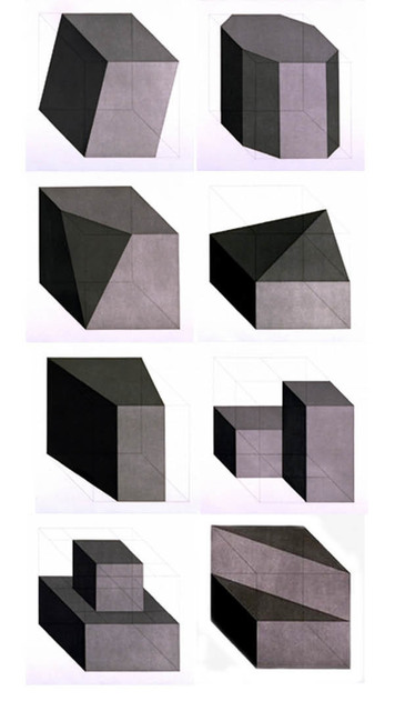 , 'Forms Derived From a Cube,' 1982, Brooke Alexander, Inc.