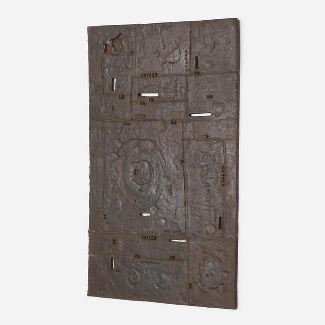 Julius Schmidt, 'Untitled', 1962, Sculpture, Iron relief, Rago/Wright