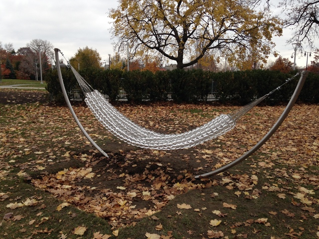 , 'The Hammock,' 2014-2015, Yavuz Gallery