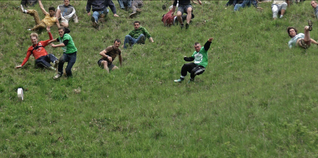 , 'Untitled (Cheese Rolling),' 2017, PROYECTOSMONCLOVA