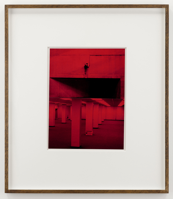 , 'Fortress,' 1982, Parafin
