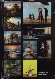 Peckham Rock and Crude Oils Postcard Set (eleven works)
