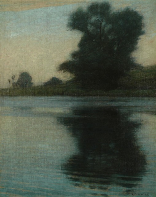 Lovell Birge Harrison, 'Silence', ca. 1890, Private Collection, NY