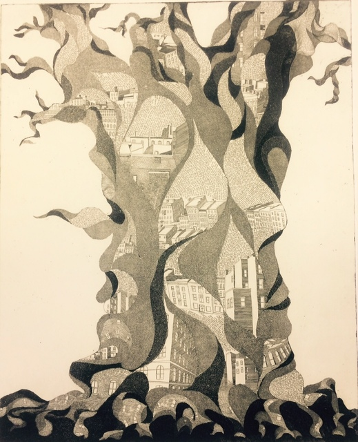 , 'Tree of Cities,' 2009, Hutson Gallery