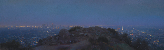 , 'City Lights from Griffith Park,' 2015, Craig Krull Gallery