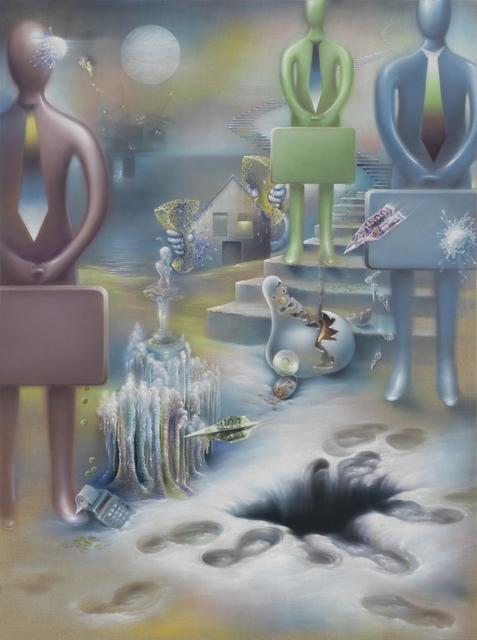 , 'Enviroment for spiritual Vacuum (Yes-Men),' 2015, Galerie Thomas Schulte