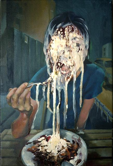 , 'Brownie with Vanilla Ice Cream,' 2018, Powen Gallery