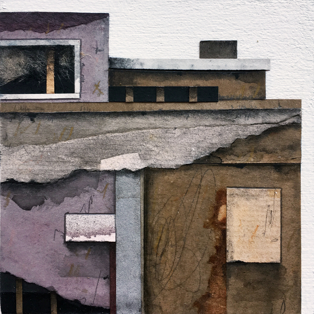 , 'Roof Top Blocks (in purple hues) no. 3,' 2017, BoxHeart