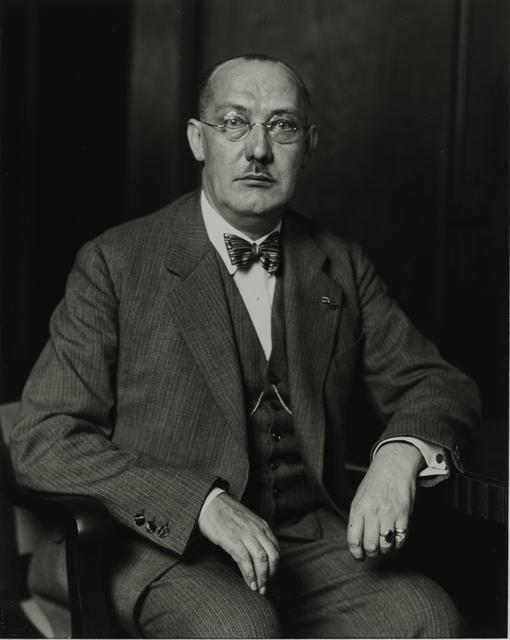 August Sander, 'Bank Official, 1932', Galerie Julian Sander