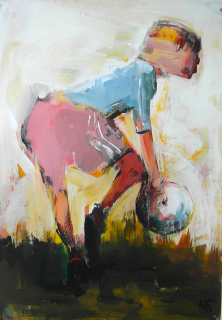", '""Football"" 4,' 2018, Krokin Gallery"