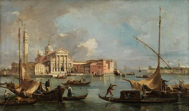 , 'View of San Giorgio Maggiore ,' ca. 1760, American Federation of Arts