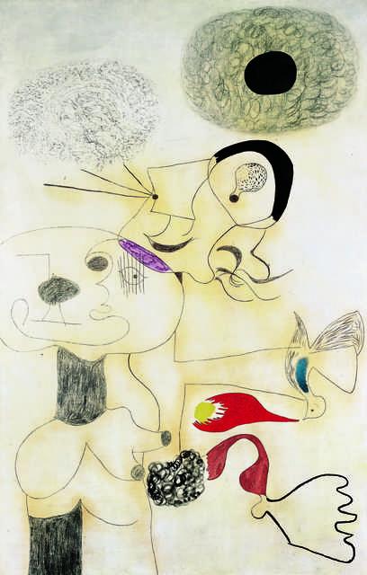Joan Miró, 'Peinture (Painting)', 1930, Fondation Beyeler