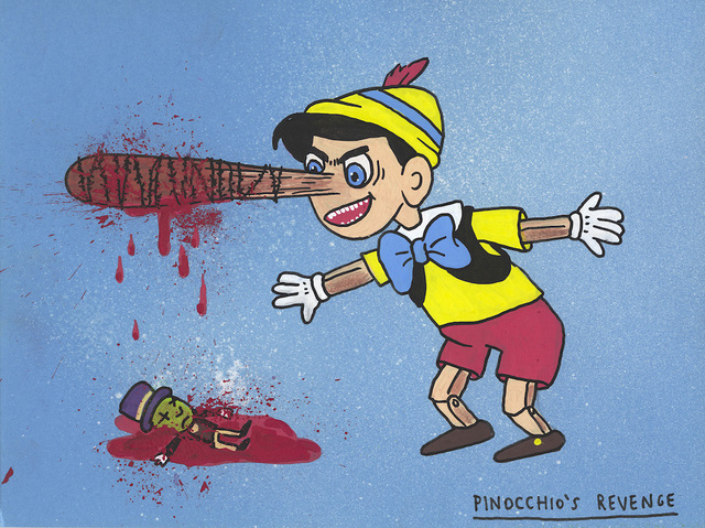 , 'Pinocchio's revenge,' 2017, MARTINA'S GALLERY