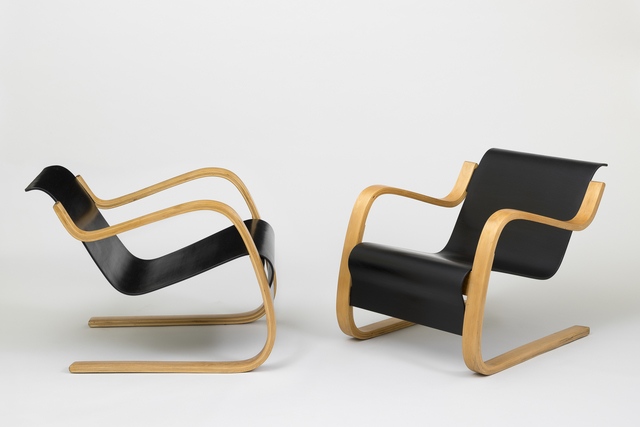 , 'Pair of armchairs,' 1930, Galerie Le Beau