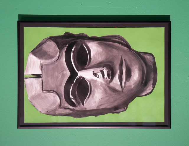 , 'Untitled (Fallen Head),' 2004, Nina Johnson