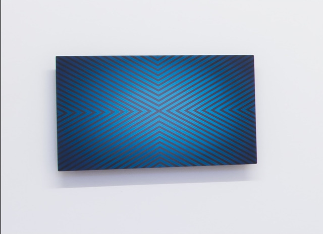 , 'Azul y Negro,' 2013, Agua8 Art Rooms