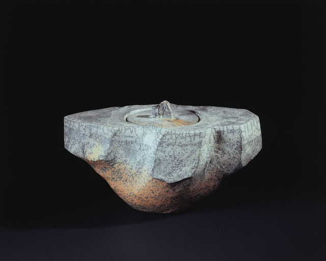 ", 'Ōhi White Ceremonial Vessel ""Hakobune 02"",' 2007, Onishi Gallery"
