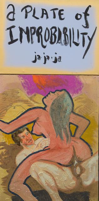 , 'a Plate of Improbability ja ja ja,' 2017, Freight + Volume
