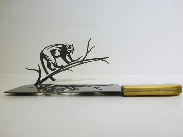 , 'Cheetah,' , Contemporary by Angela Li