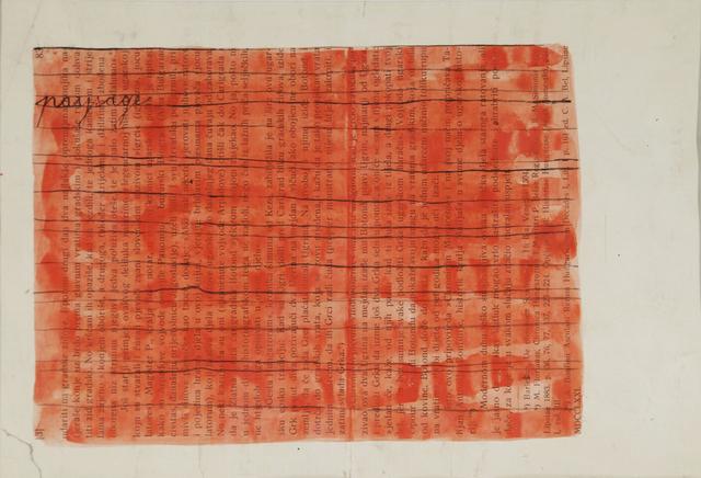 , 'Paysage,' 1951-1956, Aanant & Zoo