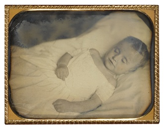 Postmortem Portrait of a Young Girl