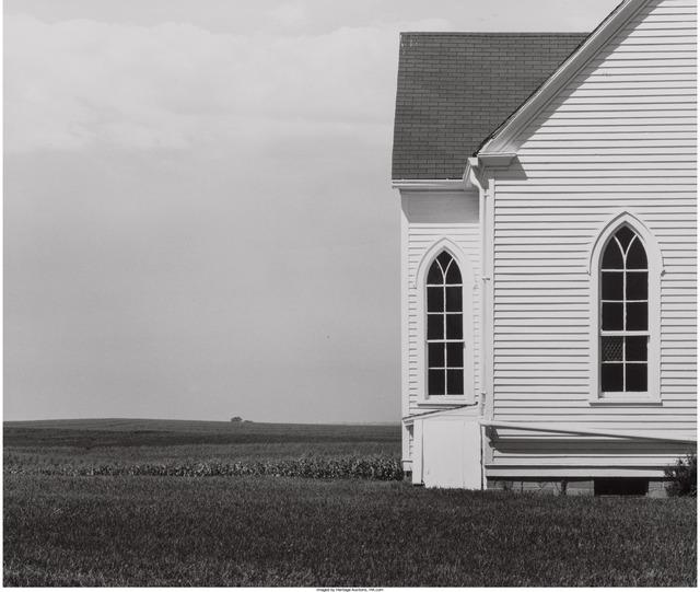 David Plowden, 'Church, Saline County, MO', 1974, Heritage Auctions