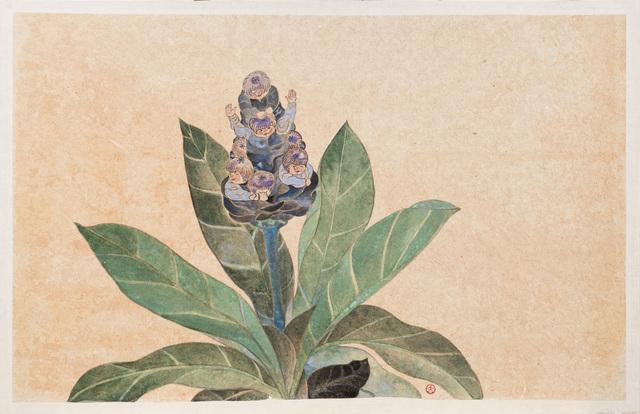 , 'The Pot in Garden- Frangipani,' 2015, Yiri Arts