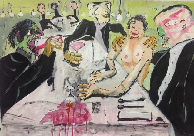 , 'Comanche Dinner ,' 2014, Paraphé