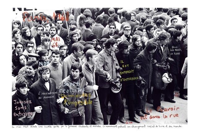 , 'Paris, 1968,' 2014, Henrique Faria Fine Art