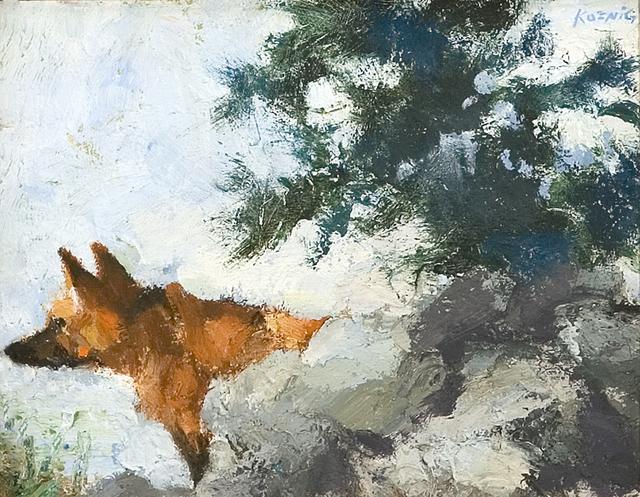 , 'Fox Amongst Rocks,' , Dowling Walsh