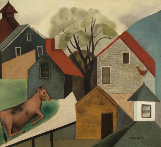 , 'Cow in Pasture,' 1926, ACA Galleries
