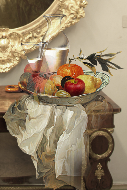 , 'The Costume of a Painter - Still Life with Apple,' 2015, Opera Gallery