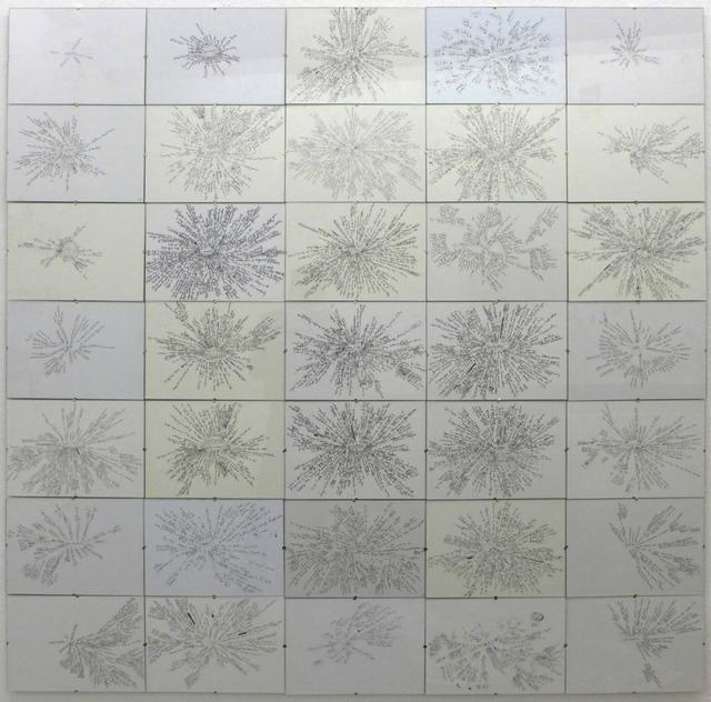, '35 Mind Maps,' 1999-2007, Christine König Galerie
