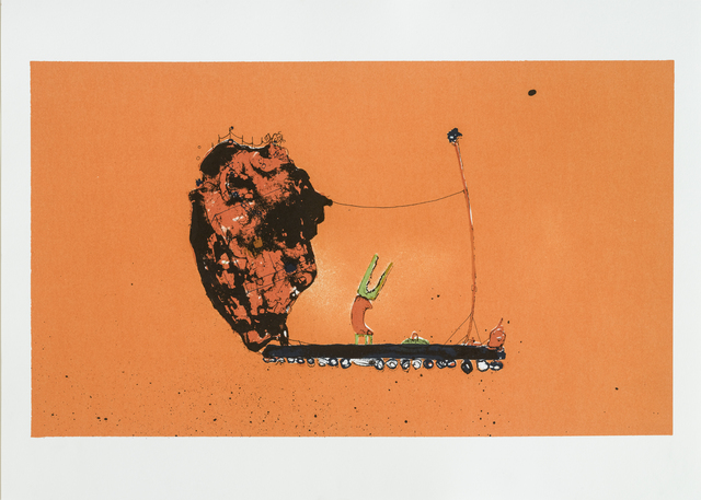 Roy Mordechay, 'After the Gold Rush', 2015, Print, Silkscreen on paper, Lepsien Art Foundation
