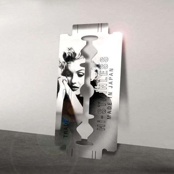 Yves Hayat, 'Lame de fond - Marilyn ed.1/6', 2019, Mark Hachem Gallery