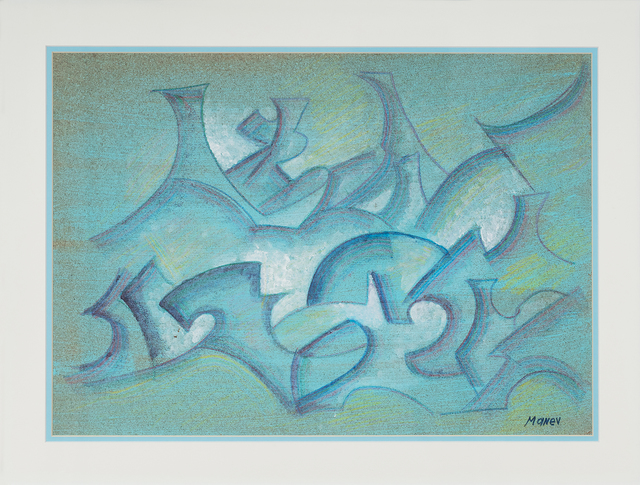 , 'Impression in Blue,' 2013, ArtWizard
