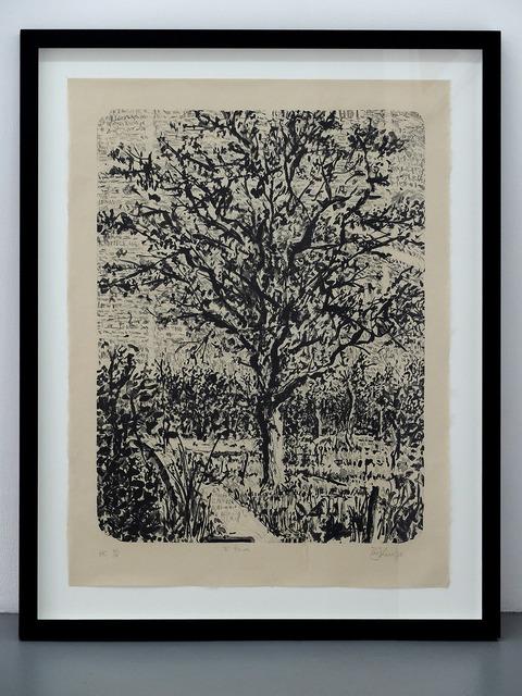 , 'Stone Tree I,' 2013, gdm
