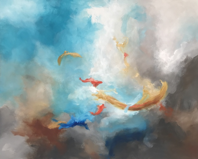 , 'Koi,' 2018, Ginger Fox Gallery