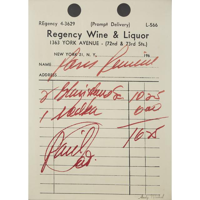 Andy Warhol, 'Paris Review', 1967, Freeman's