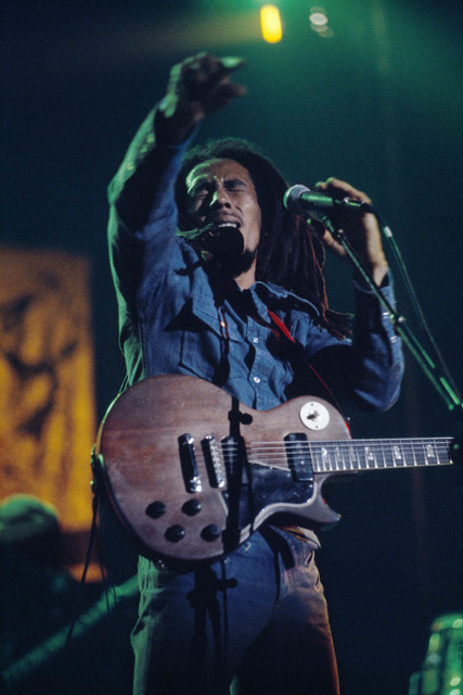 , 'Rebel Music, Bob Marley and The Wailers in Brussels, Belgium, on their Exodus Tour in Europe,' 1977, Anastasia Photo