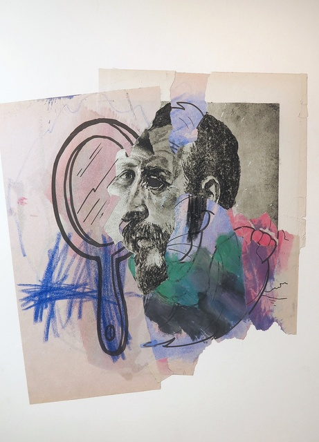 , 'Italian Mirror 11.2.15,' 2016, Hosfelt Gallery