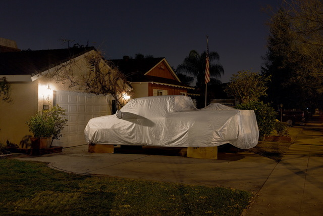, 'Sleeping Car, Orchard Drive,' 2013, Fahey/Klein Gallery