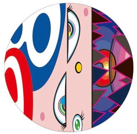 Takashi Murakami, 'We Are The Square Jocular Clan (Rainbow) (6)', 2018, Print, Offset lithograph, Lougher Contemporary