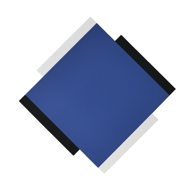 , 'Centric Blue / Black / White,' , Peter Blake Gallery