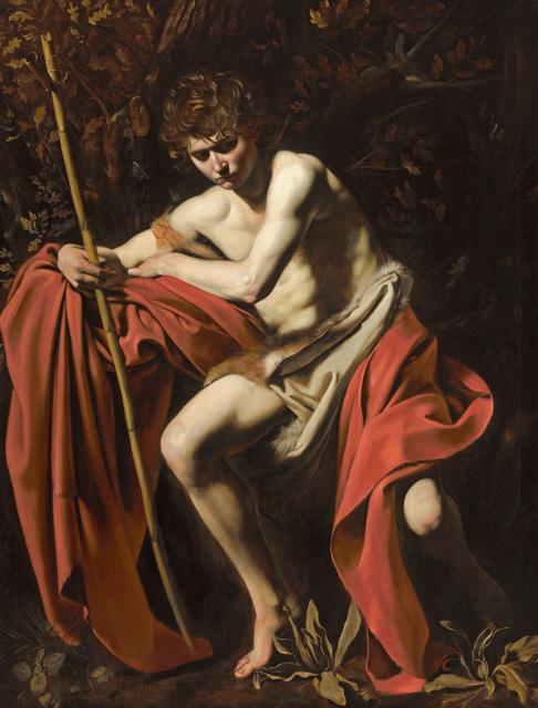 , 'San Juan Buatista en el desierto (Saint John the Baptist in the Wilderness),' 1602, Museo Thyssen-Bornemisza