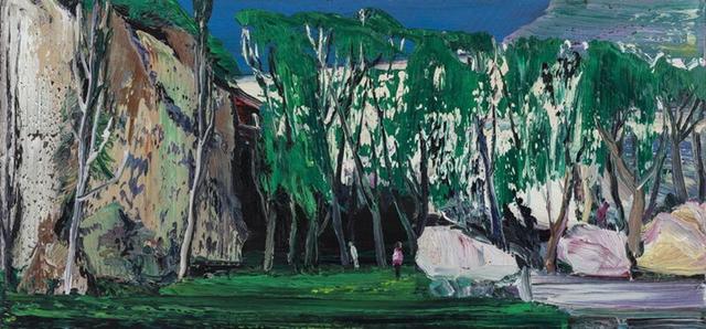 , 'Summer Hills,' 2014, Line Gallery