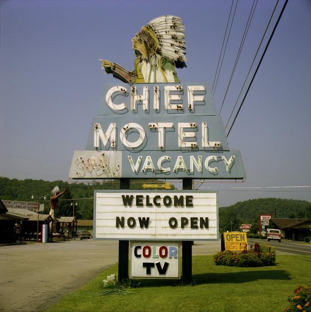 , 'Cherokee, North Carolina; August,' 1982, photo-eye Gallery