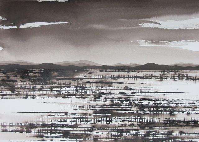 , 'Desert Grassland,' 2016-2017, Art Atrium